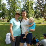 Women's Division players and future disc golfer!