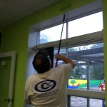 Painting at Thomasville Community Resource Center
