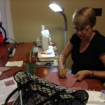 sewing comfort pillows for delivery to Archbold
