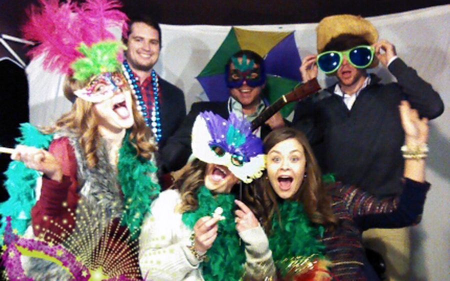 Mardi Gras 2015 Goof Booth Pictures