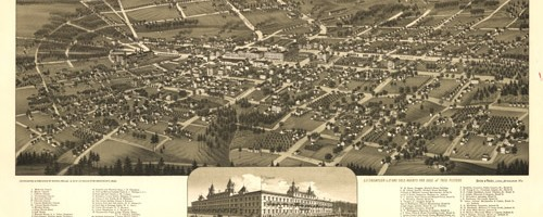 old map of thomasville