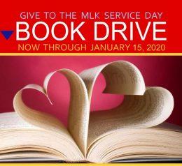 MLK book drive header only