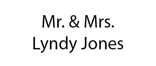 JOnes, Lyndy