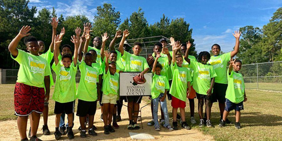 Volunteers Upgrade Northside Park